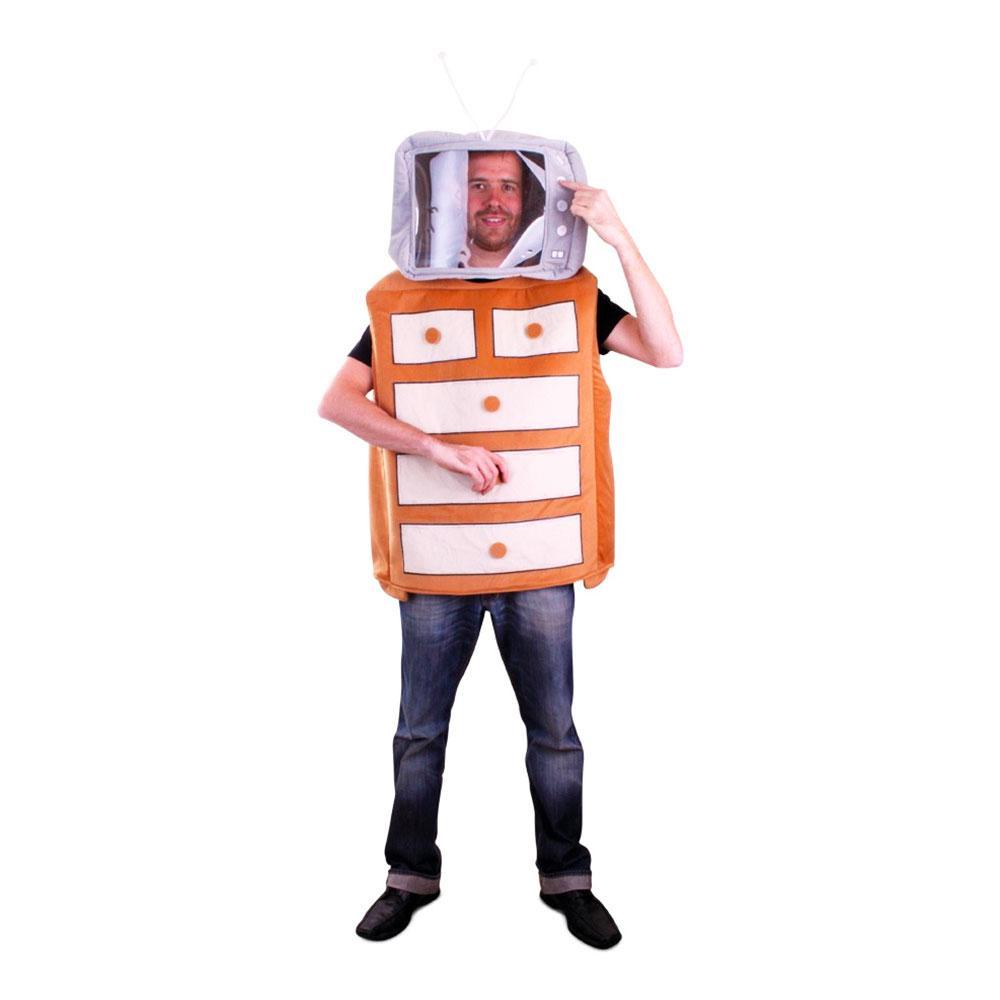 Byrå Maskeraddräkt - One size