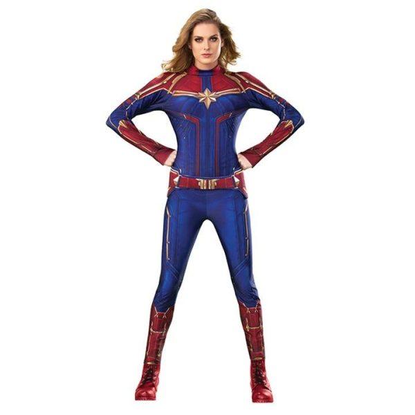 Captain Marvel Maskeraddräkt Medium