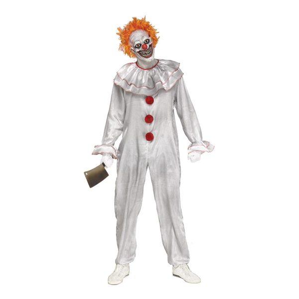 Carnevil Killer Clown Maskeraddräkt - One size