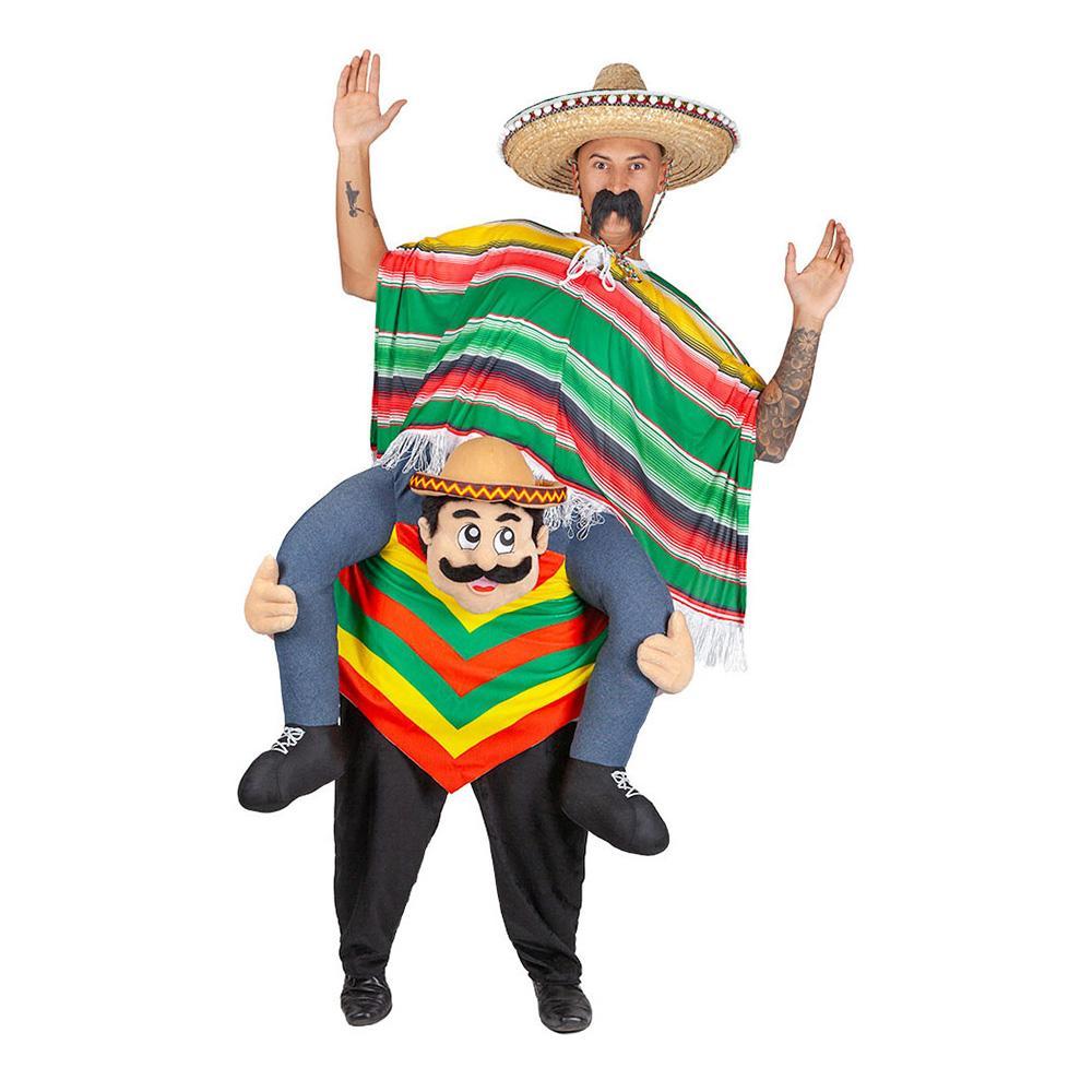 Carry Me Mexikan Maskeraddräkt - One size