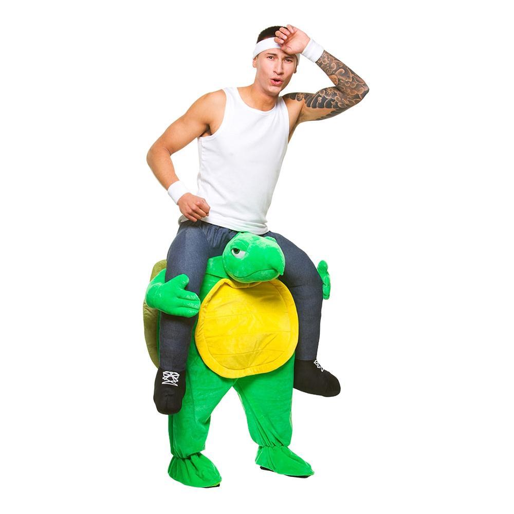 Carry Me Sköldpadda Maskeraddräkt - One size