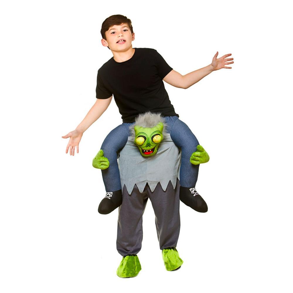 Carry Me Zombie Barn Maskeraddräkt - One size