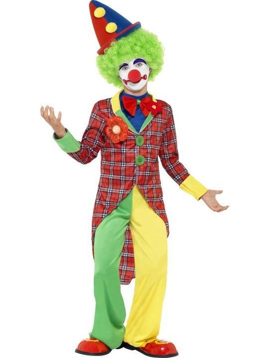 Clownkostym Maskeraddräkt Barn Medium