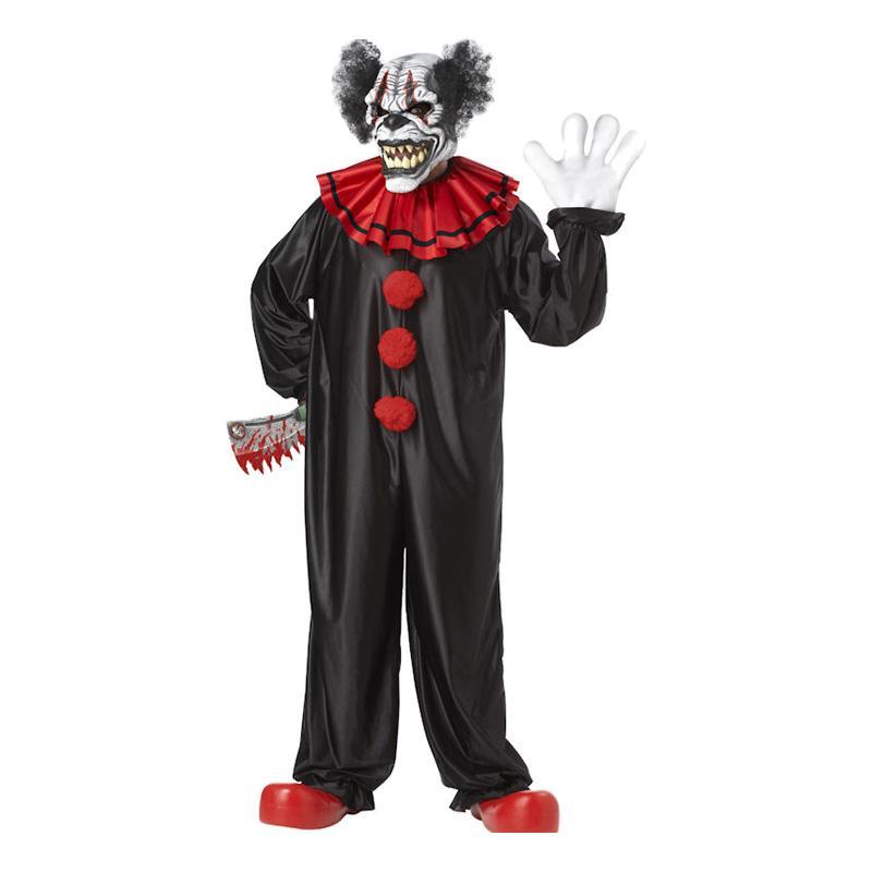 Den elake Clownen Maskeraddräkt - One size