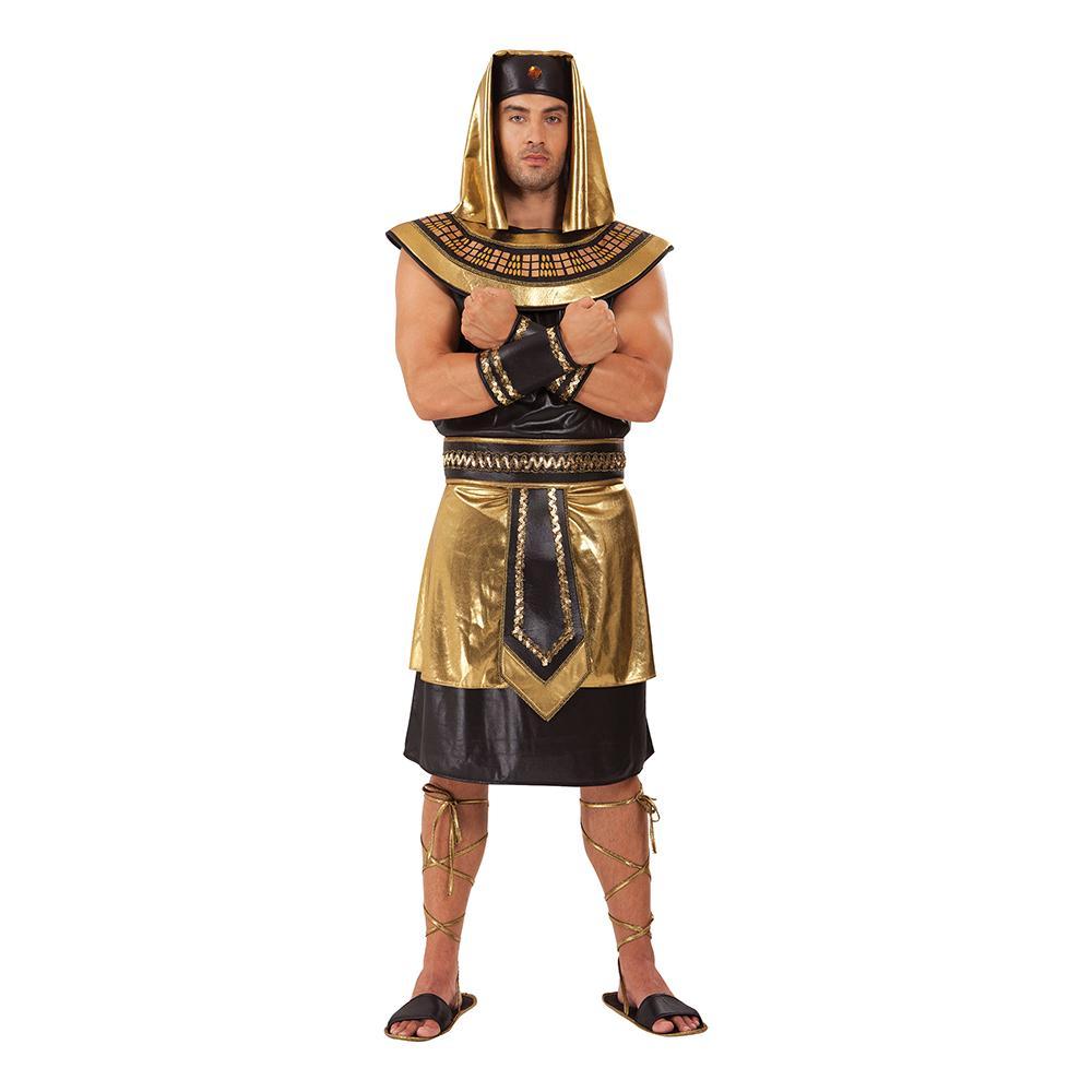 Egyptisk Kung Lång Maskeraddräkt - One size