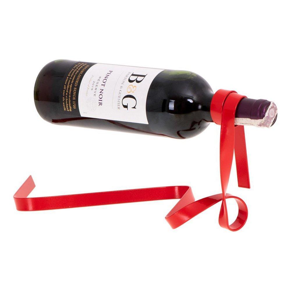 Flaskhållare Presentsnöre Röd