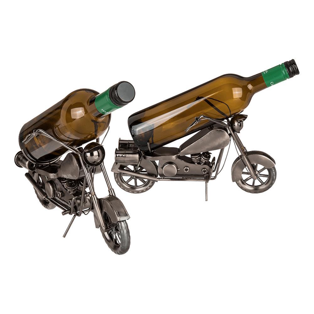 Flaskhållare i Metall Motorcykel