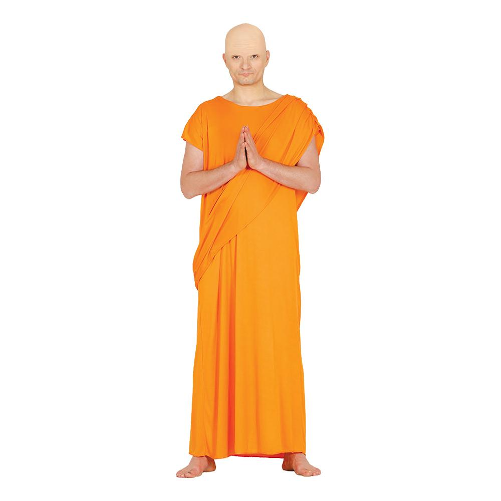 Hare Krishna Munk Maskeraddräkt - One size (Large)