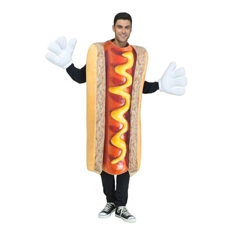 Hot Dog Maskeraddräkt - One size