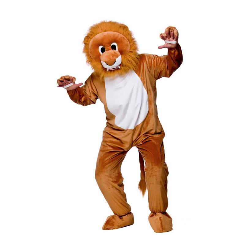 Lejonmaskot Maskeraddräkt - One size