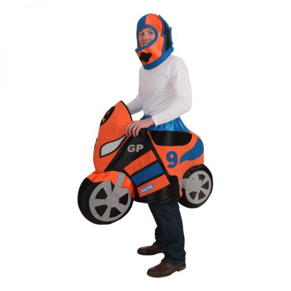 Motorcykel Maskeraddräkt - One size