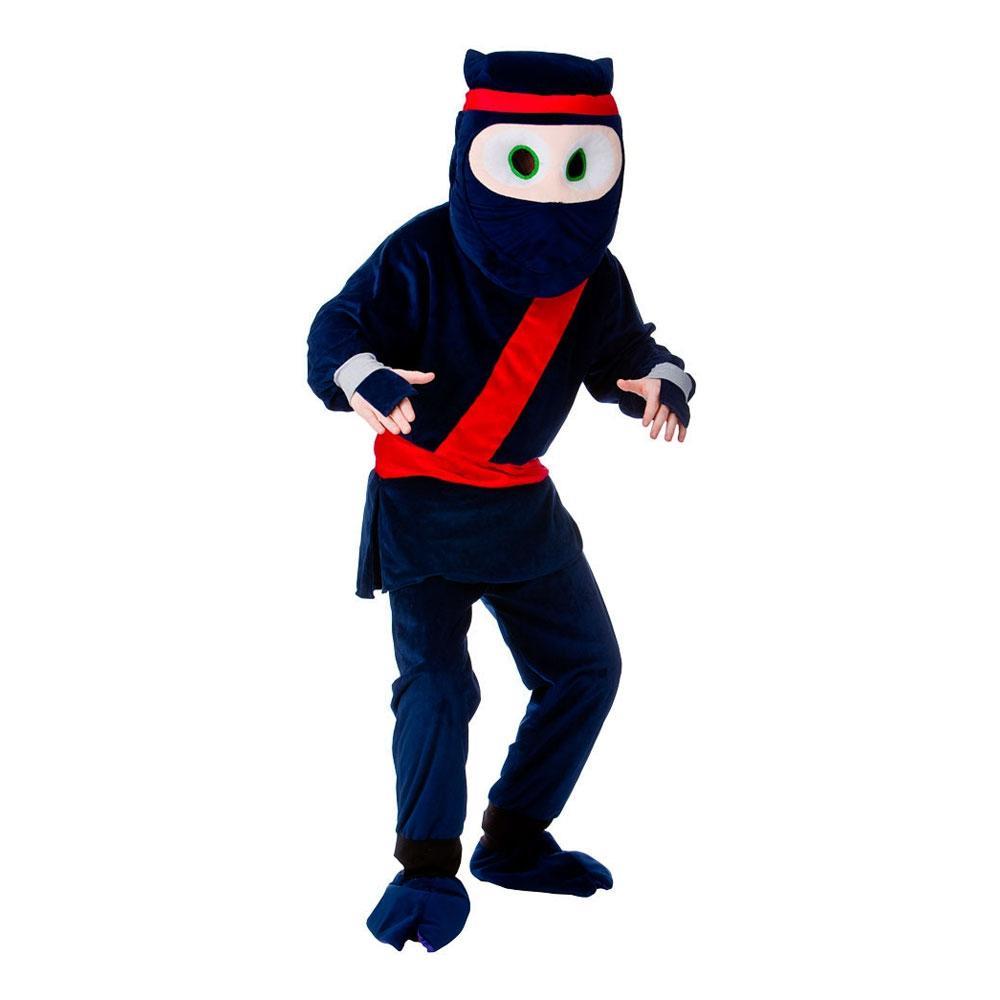 Ninjamaskot Maskeraddräkt - One size