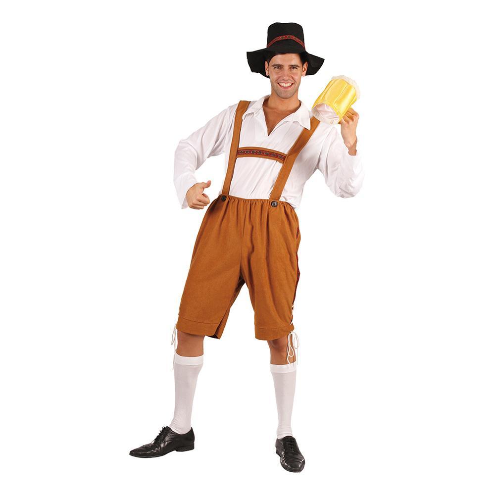 Oktoberfestman Maskeraddräkt - One size