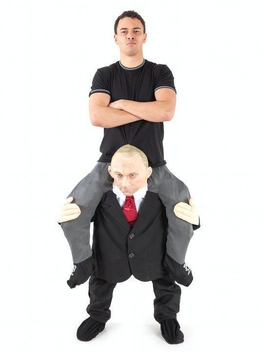 Piggy Back Putin Maskeraddräkt