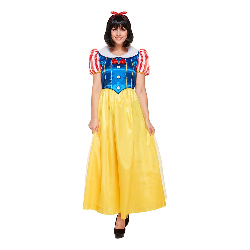 Prinsessa Budget Maskeraddräkt - One size