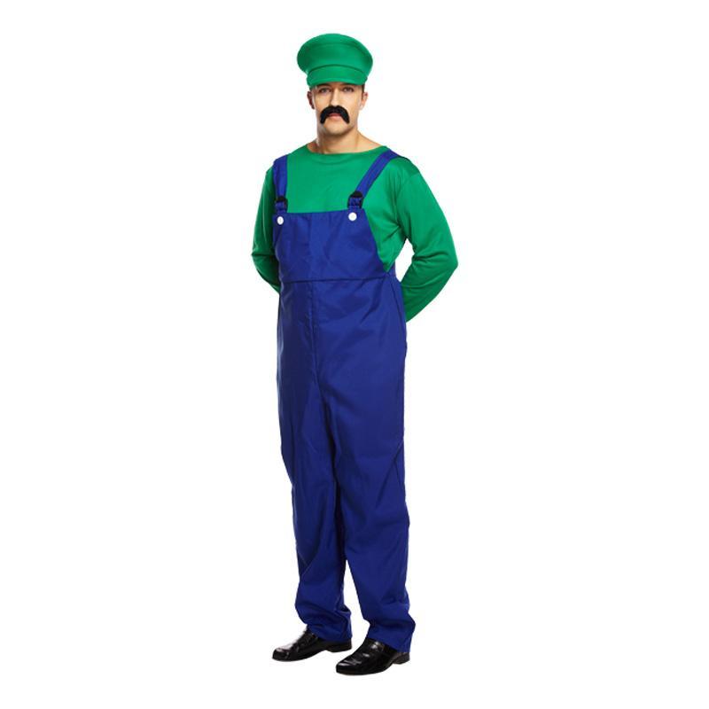 Rörmokare Grön Budget Maskeraddräkt - One size