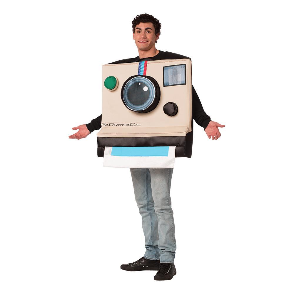 Retromatic Kamera Maskeraddräkt - One size