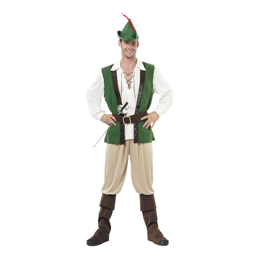 Robin Hood Maskeraddräkt - One size