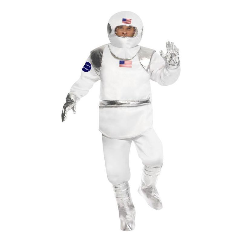 Spaceman Maskeraddräkt - One size