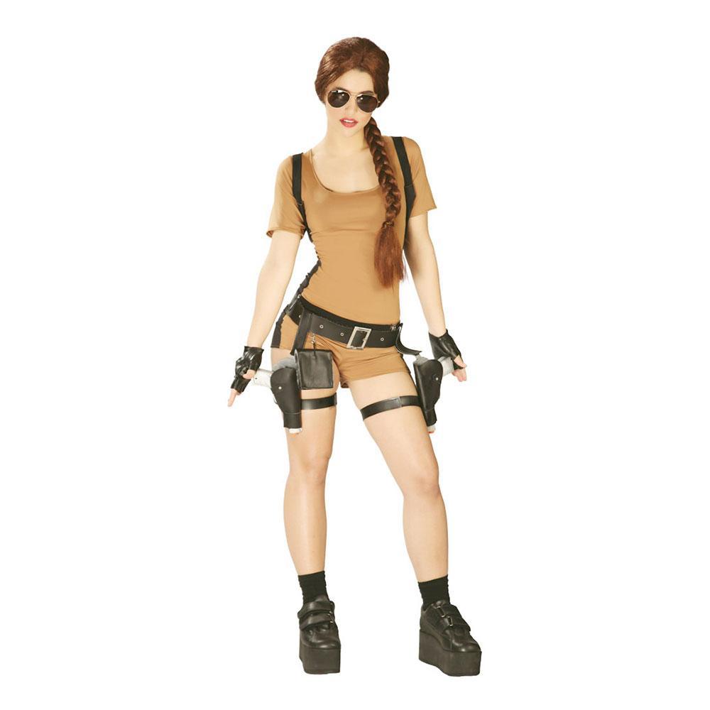 Tomb Raider Maskeraddräkt - One size (Large)
