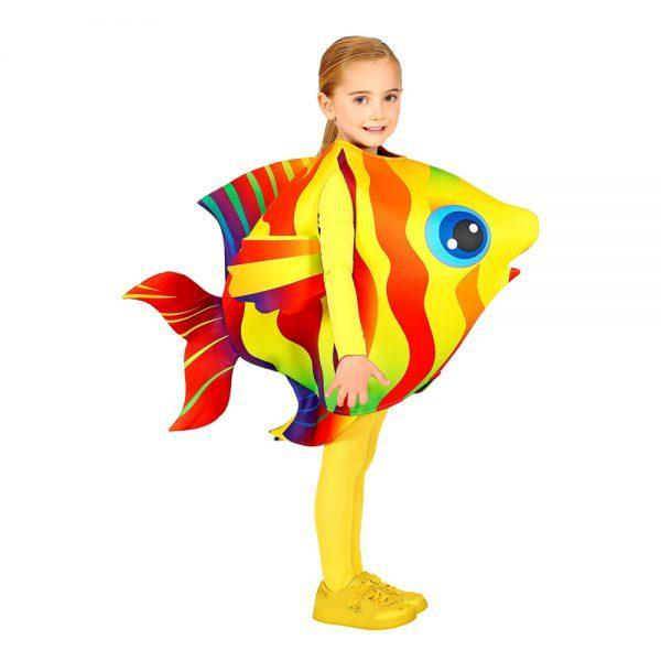 Tropisk Fisk Barn Maskeraddräkt - One size