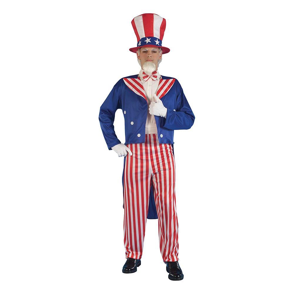 Uncle Sam Budget Maskeraddräkt - One size