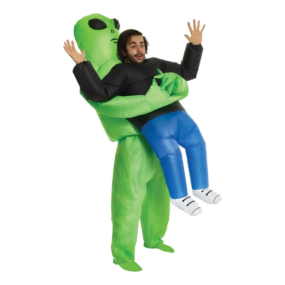 Uppblåsbar Bärande Alien Maskeraddräkt - One size