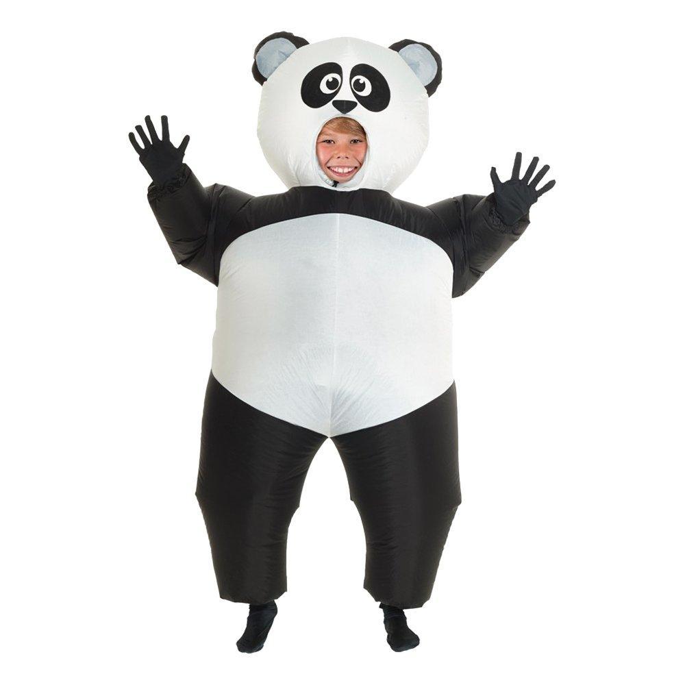 Uppblåsbar Panda Barn Maskeraddräkt - One size