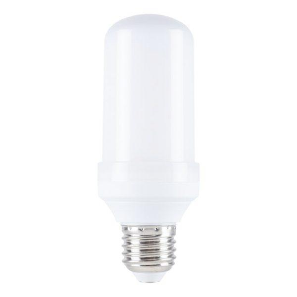 Flammande LED-lampa E27-sockel