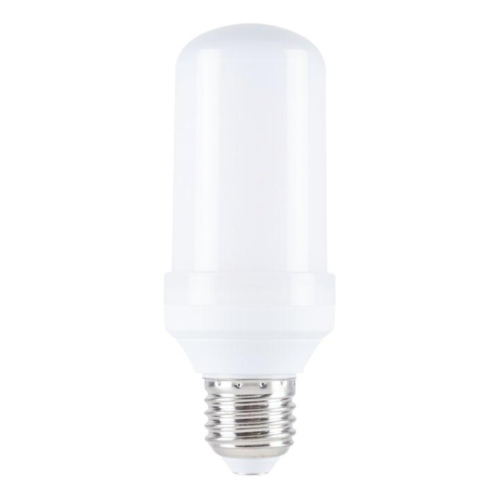 Flammande LED-lampa E27-sockel