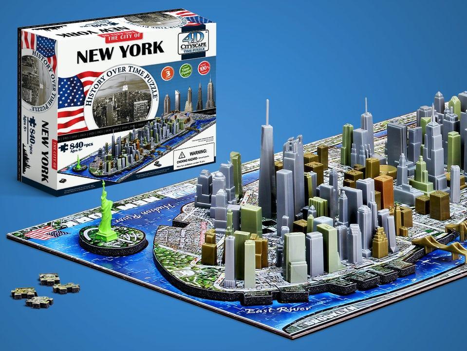 4D Stadspussel New York