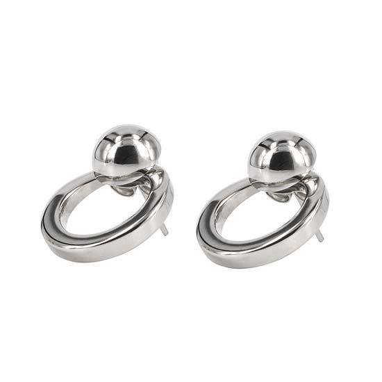 Astrid & Agnes Denise örhängen stål