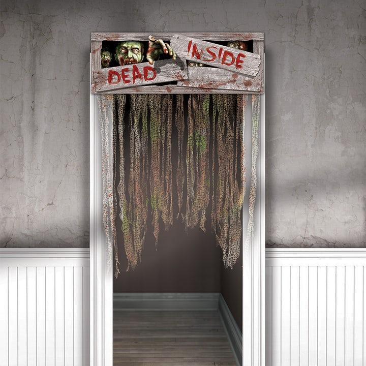 Dead Inside Zombie Draperi