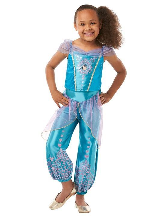 Disney Prinsessan Jasmine Maskeraddräkt Barn Small