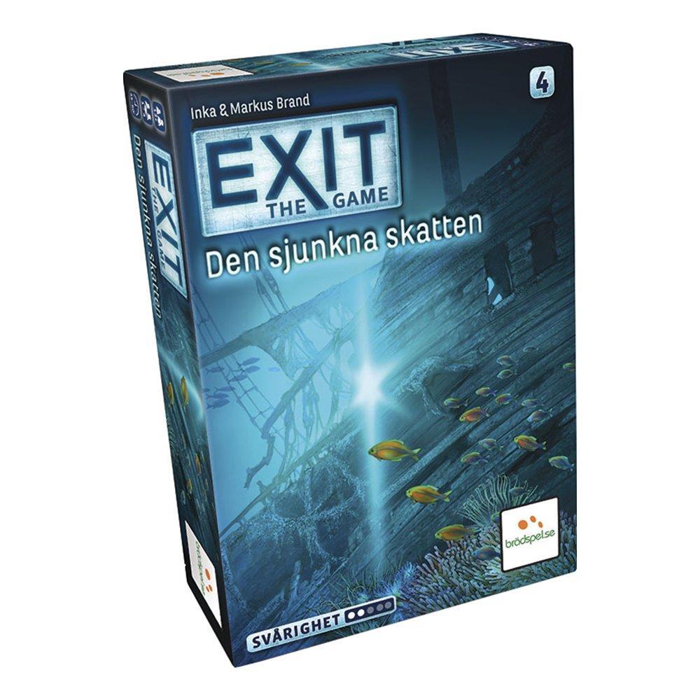 EXIT 4: Den Sjunkna Skatten Spel