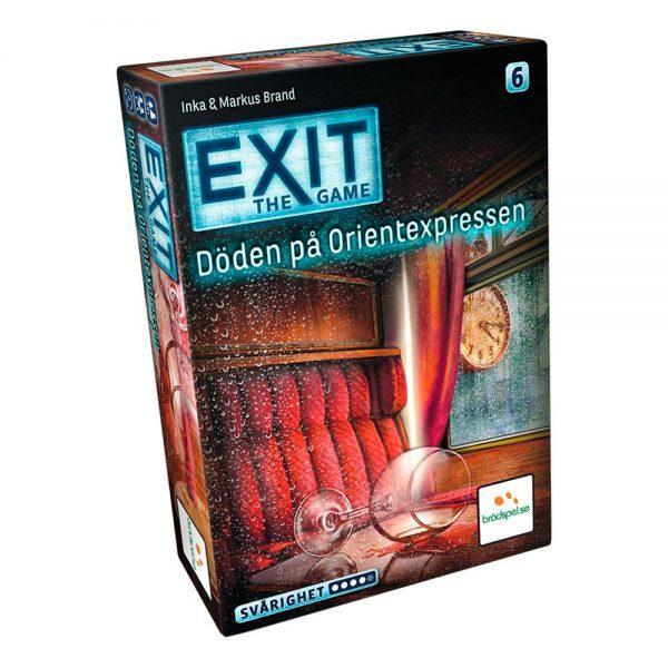 EXIT 6: Döden på Orientexpressen Spel