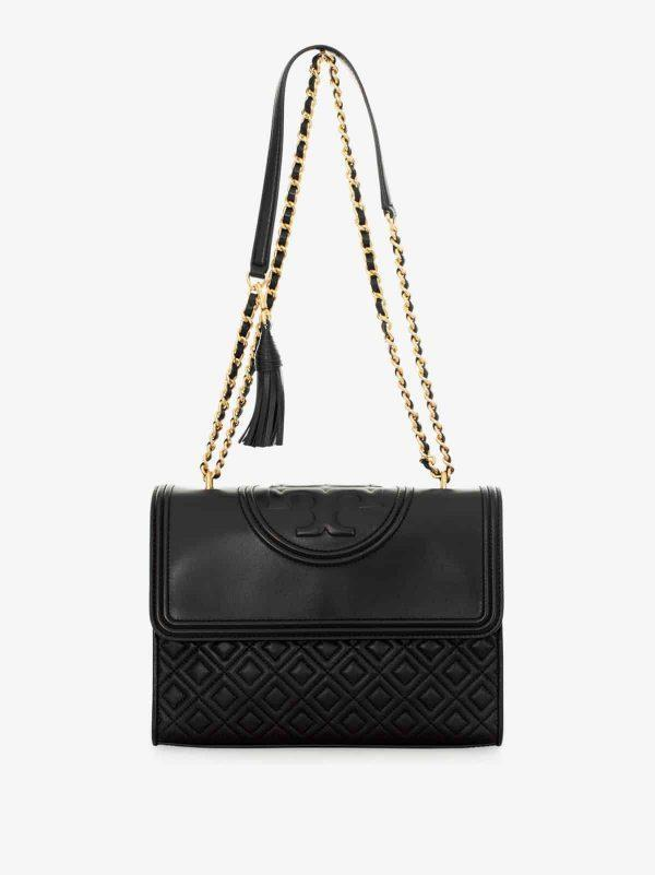 Fleming Convertible Shoulder Bag Black