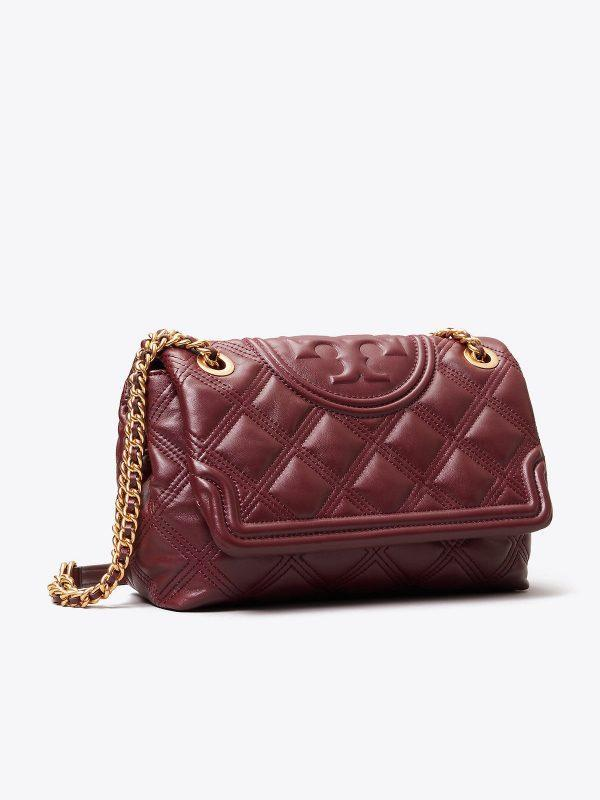 Fleming Soft Convertible Shoulder Bag Claret