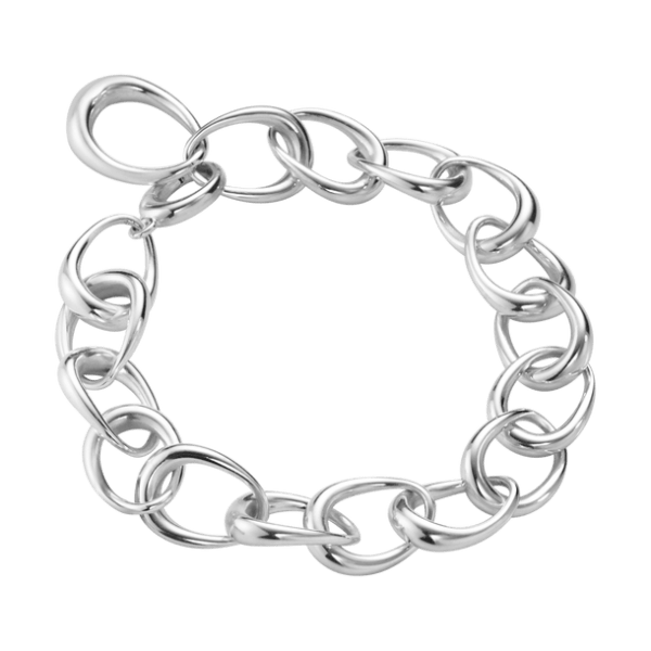Georg Jensen Offspring Kraftigt Armband Silver