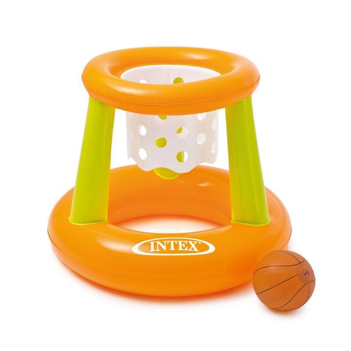 Intex Uppblåsbart Basketset