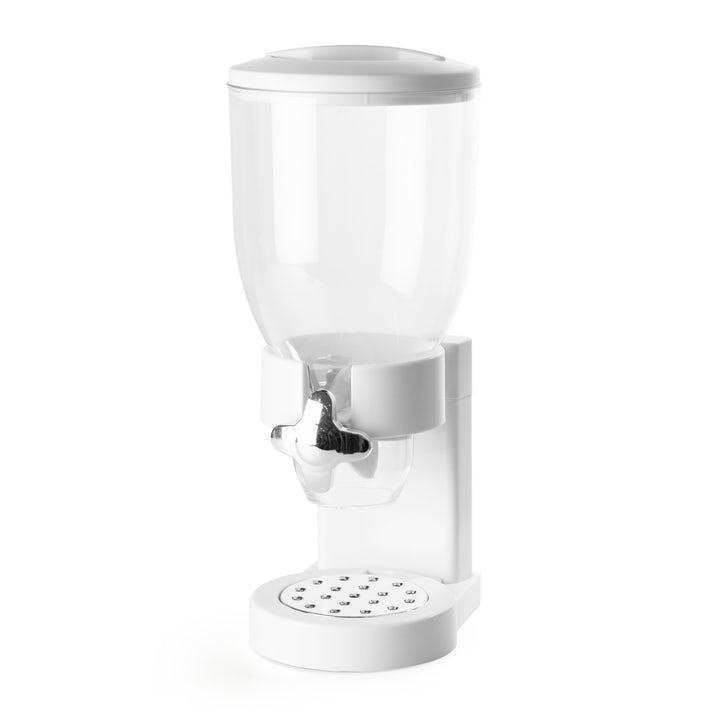 KitchPro® Cornflakes Dispenser Singel Vit