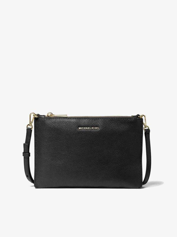 Michael Kors Large Double Pouch Crossbody Black