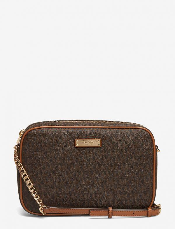 Michael Kors Large Ew Crossbody Brown