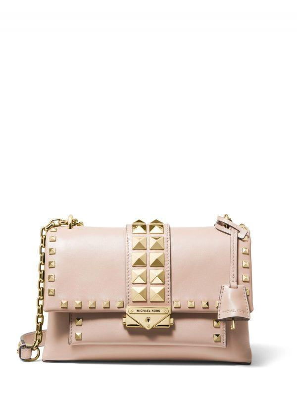 Michael Kors Medium Cece Chain Shoulder Bag Soft Pink