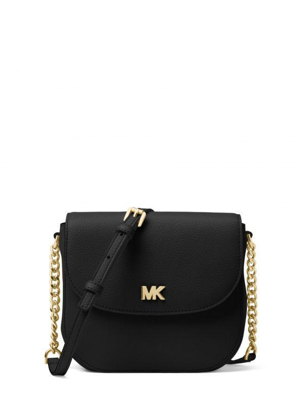 Michael Kors Small Half Dome Crossbody Black