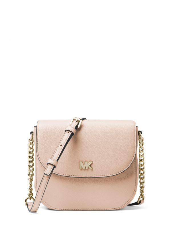 Michael Kors Small Half Dome Crossbody Soft Pink
