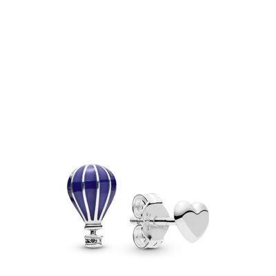 Pandora Varmluftballong & hjärta örhängen