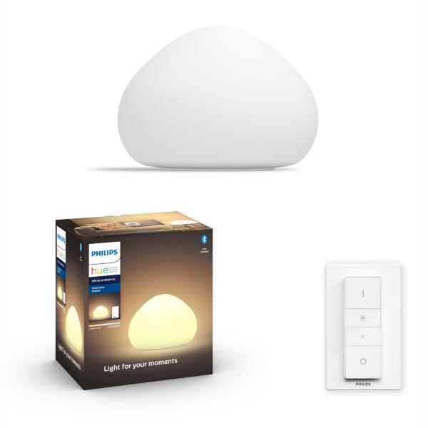 Philips Hue Wellner Bordslampa BT / 5W - Vit