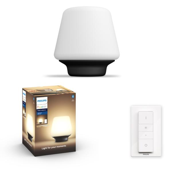 Philips Hue Wellness Bordslampa BT / 5W - Svart