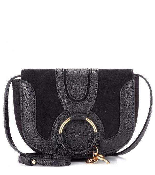 See By Chloé Hana Mini Shoulder Bag Black